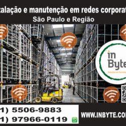 Instalação, manutenção em redes, cabeamento, estruturado, São Paulo, SP,  redes corporativos, reorganização, dados, cftv